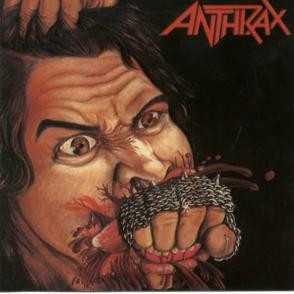 """Anthrax - Fistful Of Metal 4x4"""" Color Patch"""