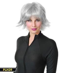 Silver Short Wig