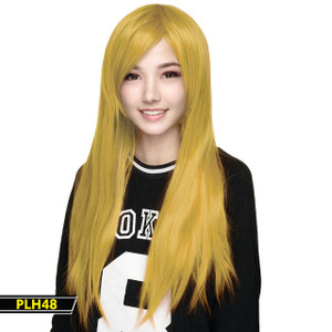 Yellow Gold Long Wig