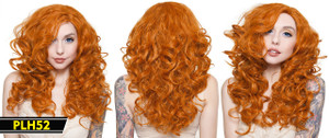 Light BrownLong Curly Wig