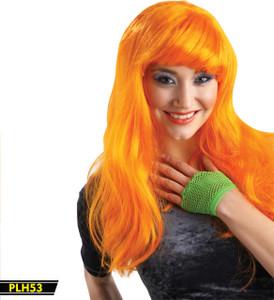 Orange Long Wig