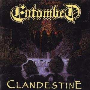 "Entombed - Clandestine 4x4"" Color Patch"