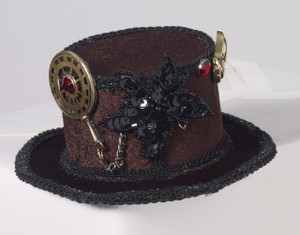 Steampunk Hat with  Gears