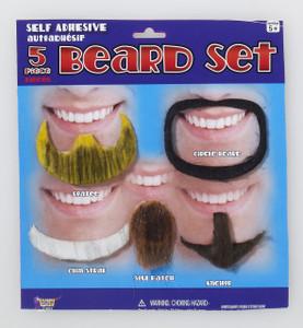 Black Beards Set
