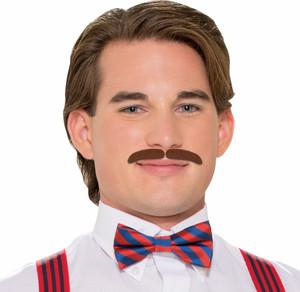 Roarin'20s Brown Moustache