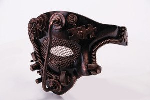 1 Eyed Steampunk Mask