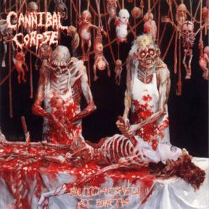 "Cannibal Corpse - Butchered At Birth 4x4"" Color Patch"