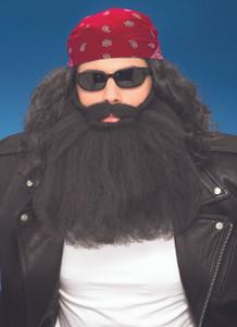 """14"""" Black Biker Beard"""