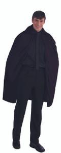 "Black 45"" Dracula Cape"
