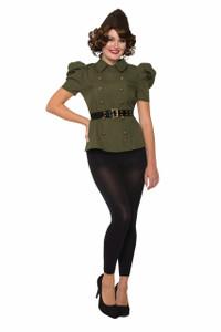 Women's Green Army Shirt