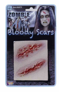 Zombie Bloody Scars 2pc