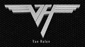 "Van Halen Logo 5x3.75"" Printed Patch"