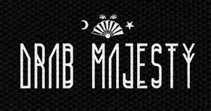 """Drab Majesty Logo 6x3"""" Printed Patch"""
