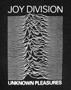 Joy Division Unknown Pleasures Backpatch 12x16""