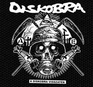"Diskobra - A Diskobra Visszater 4x4"" Printed Patch"