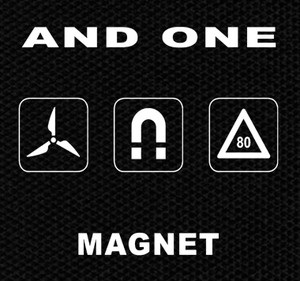 "And One - Magnet 5x4"" Printed Patch"