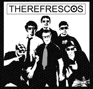 "The Refrescos Band 4x4"" Printed Patch"