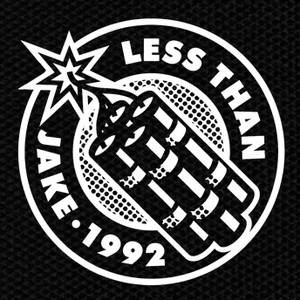 "Less Than Jake - 1992 4x4"" Printed Patch"