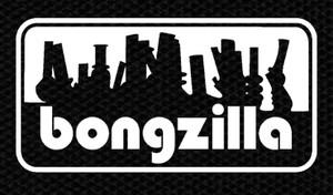 "Bongzilla - Bong Logo 4x2"" Printed Patch"