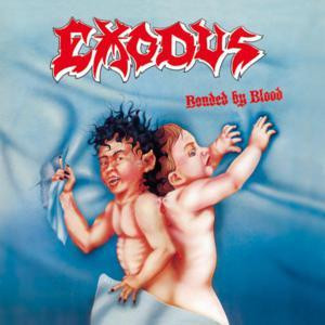 """Exodus - Bonded By Blood 4x4"""" Color Patch"""