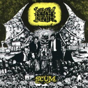 "Napalm Death - Scum 4x4"" Color Patch"
