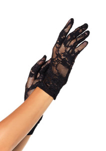 Leg Avenue - Wrist Length Lace Gloves