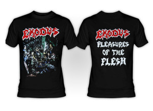 Exodus - Pleasures of the Flesh T-Shirt