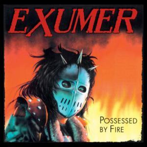 "Exumer -  Possessed By Fire 4x4"" Color Patch"