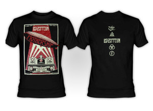 Led Zeppelin - Mothership Black T-Shirt