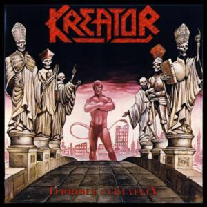 """Kreator - Terrible Certainty 4x4"""" Color Patch"""