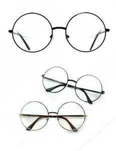 John Lennon Metal Round Glasses