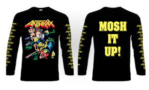Anthrax - Mosh It Up! Long Sleeve T-Shirt