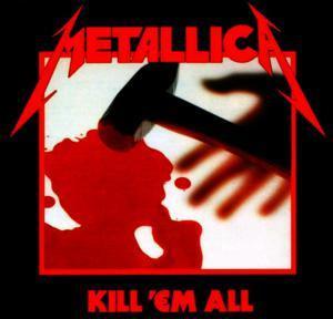 """Metallica - Kill 'Em All 4x4"""" Color Patch"""