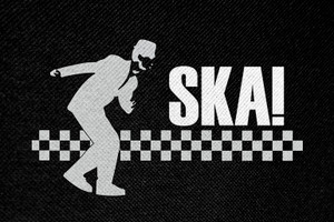 "Ska Dance Logo 4.5x3"" Printed Patch"