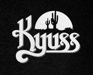 "Kyuss Sunset Logo 5x4"" Printed Patch"