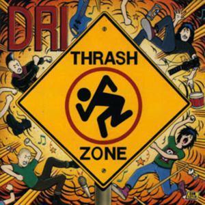 "D.R.I. - Thrash Zone 4x4"" Color Patch"