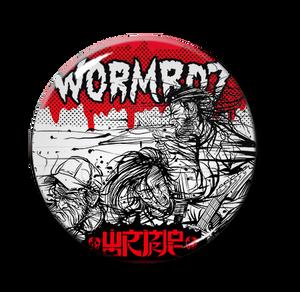 "Wormrot - Band 1"" Pin"