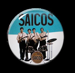 """Los Saicos Band 1"""" Pin"""
