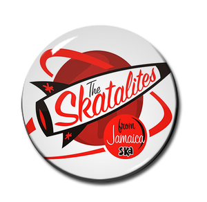 "The Skatalites - From Jamaica Ska 1"" Pin"