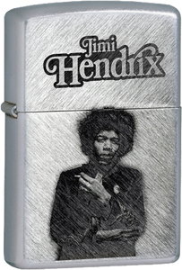 Jimi Hendrix Chrome Lighter