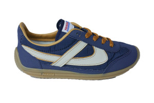 Panam - Blue and Brown Synthetic Unisex Sneaker