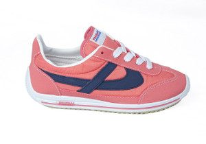 Panam - Coral and Blue Synthetic Unisex Sneaker
