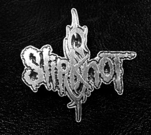 "Slipknot Logo 3"" Metal Badge"