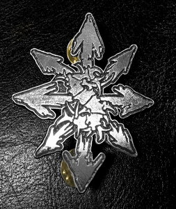 "Sepultura Logo 3"" Metal Badge"