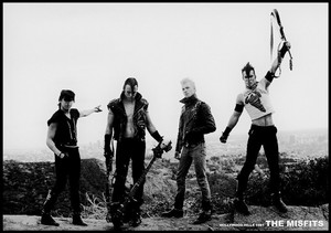 "Misfits - Hollywood Hills 1981 36"" x 24"" Poster"