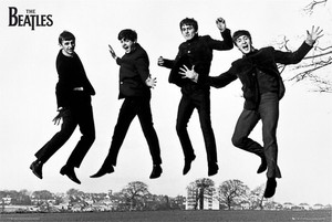 "Beatles The Jump Photograph 36x24"" Poster"