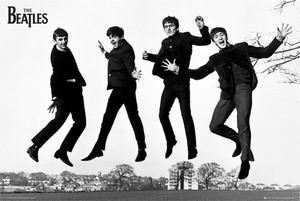 "Beatles The Jump Photograph 36"" x 24"" Poster"