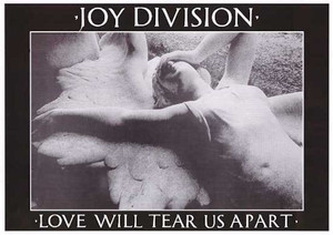 """Joy Division - Love Will Tear Us Apart 36"""" x 24"""" Poster"""