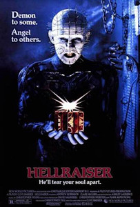 "Hellraiser Movie Cover 24x36"" Poster"