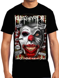 Killers Never Die - Pennywise - Unholywood Killafornia T-Shirt
